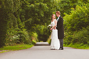 Bride and Groom - Hampshire Wedding at Tithe Barn (4)