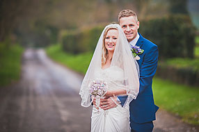 Bride and Groom - Hampshire Wedding at Tithe Barn (14)