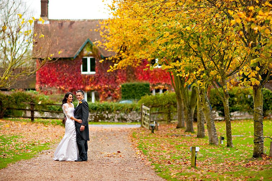 Country house barn wedding