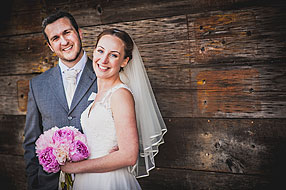 Bride and Groom - Hampshire Wedding at Tithe Barn (11)