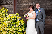 Bride and Groom - Hampshire Wedding at Tithe Barn (18)