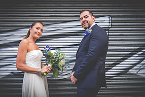 Bride and Groom - London Wedding at Wandsworth (1)