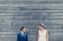 Natalie and Alex at Bury Court Barn