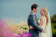 Nina and Olvier at Bury Court Barn