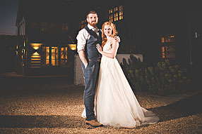 Bride and Groom - Surrey Wedding at Gate Street Barn (1)