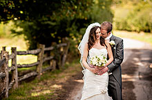Bride and Groom - Surrey Wedding at Gate Street Barn (7)