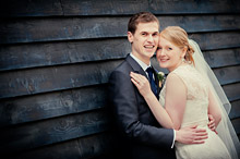 Bride and Groom - Surrey Wedding at Gate Street Barn (10)