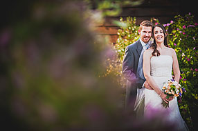 Bride and Groom - Surrey Wedding at Gate Street Barn (4)
