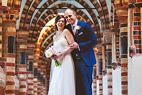 Bride and Groom - Surrey Wedding at Horsley Towers (17)