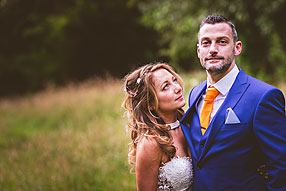 Bride and Groom - Surrey Wedding at Ramster (5)
