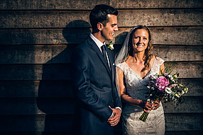 Bride and Groom - Surrey Wedding at Tilford (7)