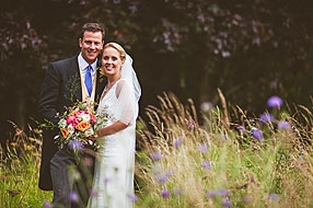 Bride and Groom - Wiltshire Wedding at North Newnton (34)