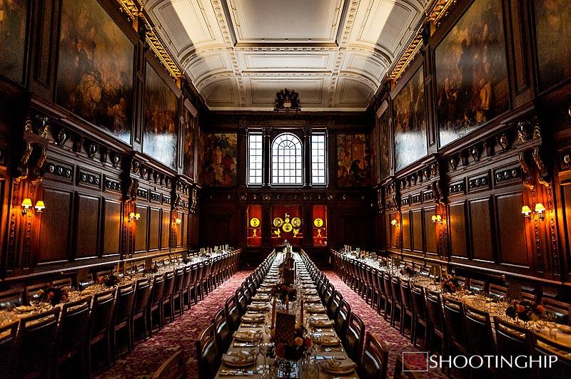 Interior photograph of Skinners Hall London