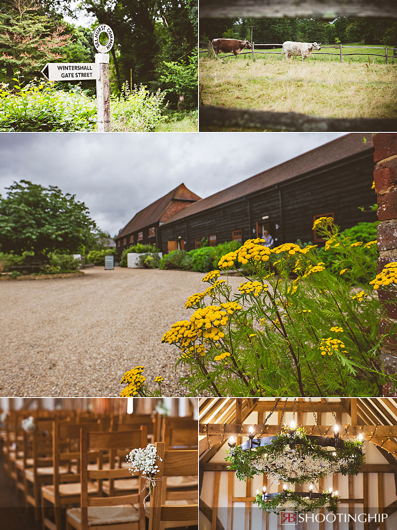 Gate Street Barn Wedding Photography-1
