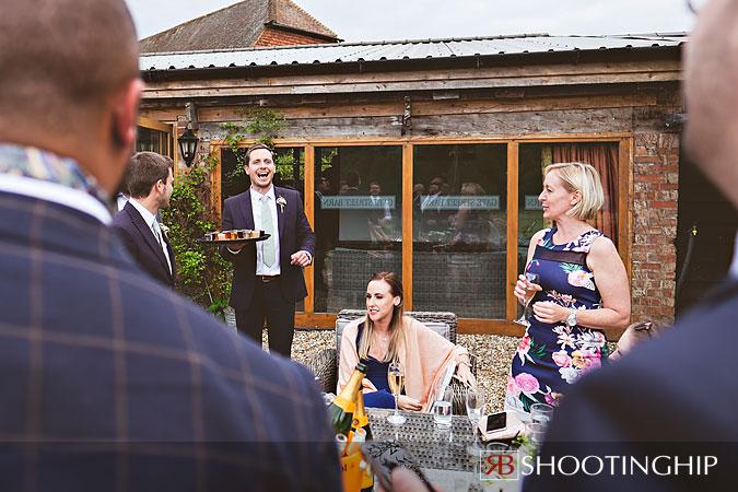 Gate Street Barn Wedding Photography-140