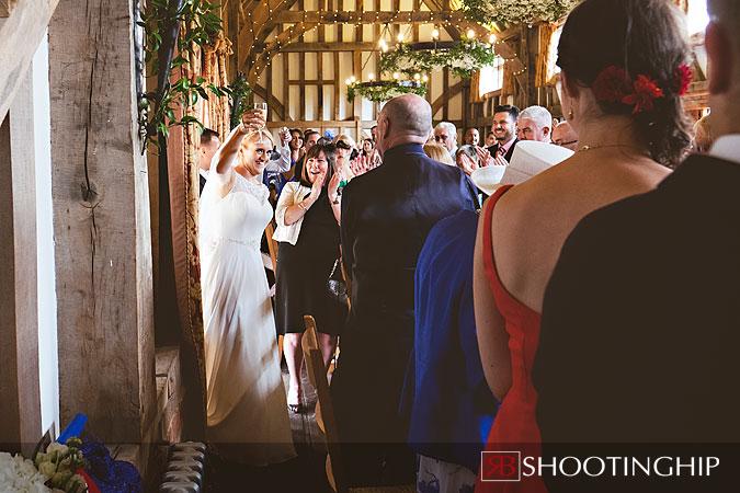 Gate Street Barn Wedding Photography-80