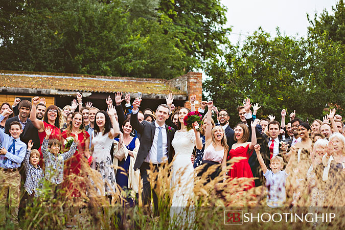 Wedding Photography at Bury Court Barn (2)
