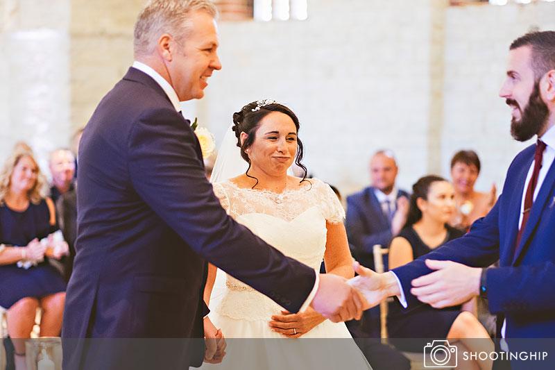 wedding photography at tithe barn (18)