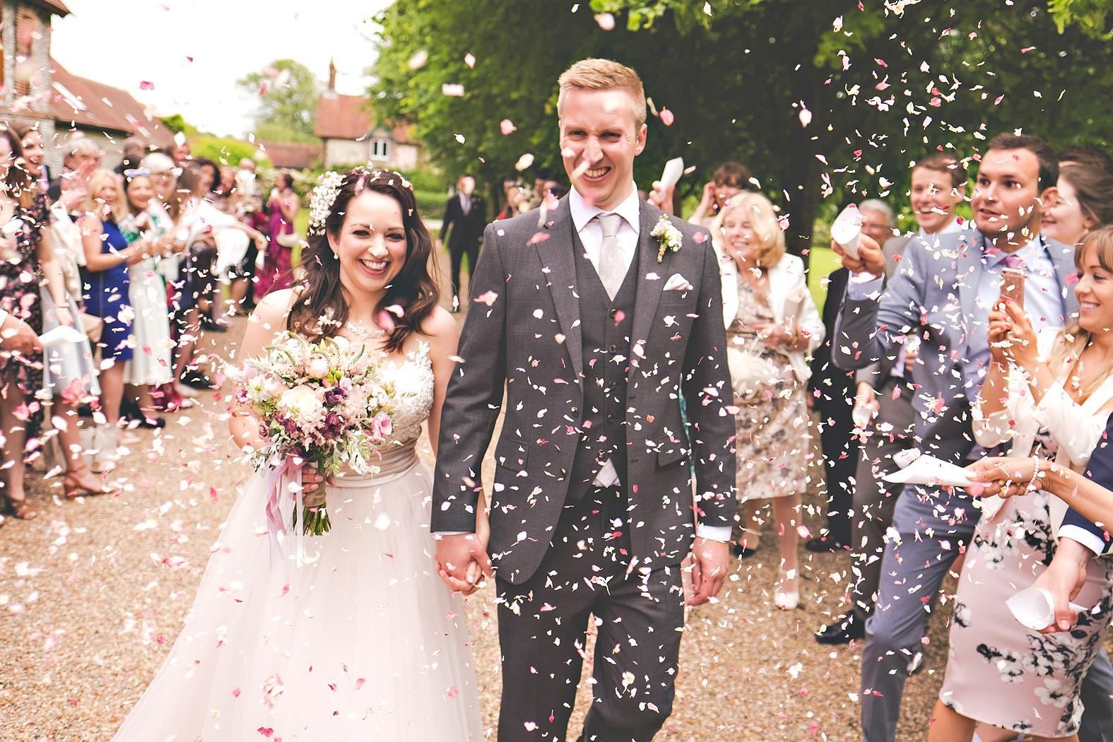 bex and bruno wedding tithe barn