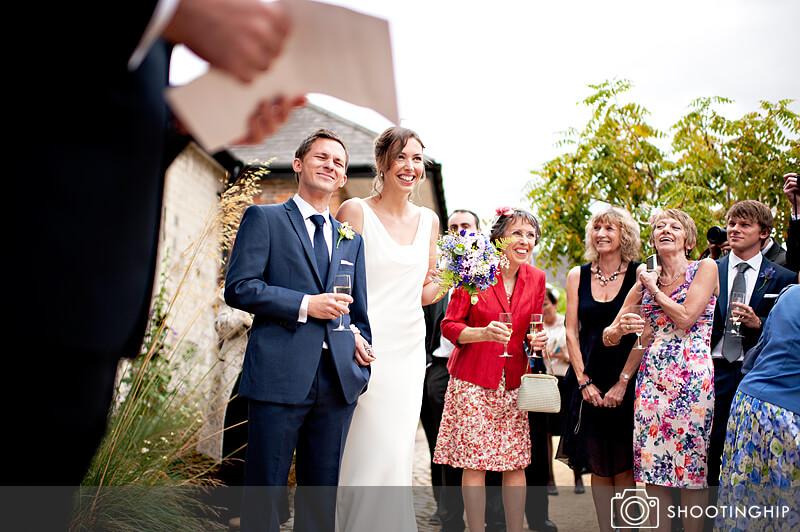 Hampshire Wedding Speeches Outside (3)