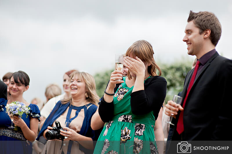 Hampshire Wedding Speeches Outside (4)