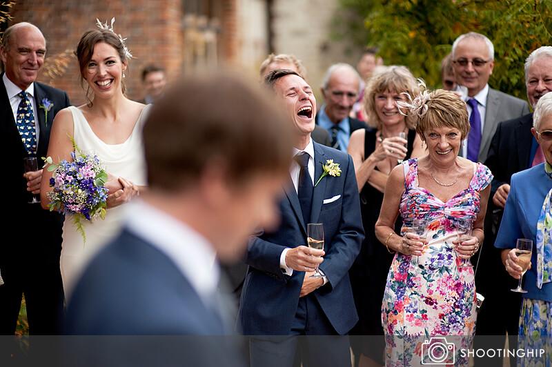 Hampshire Wedding Speeches Outside (10)