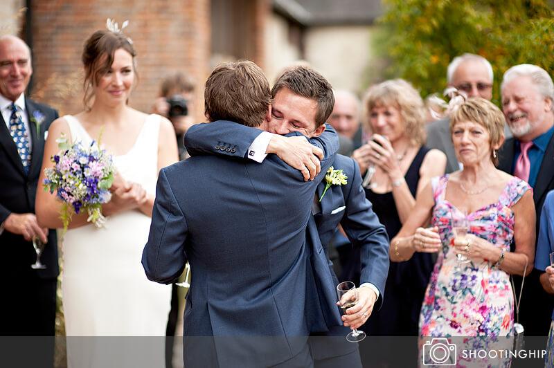 Hampshire Wedding Speeches Outside (14)
