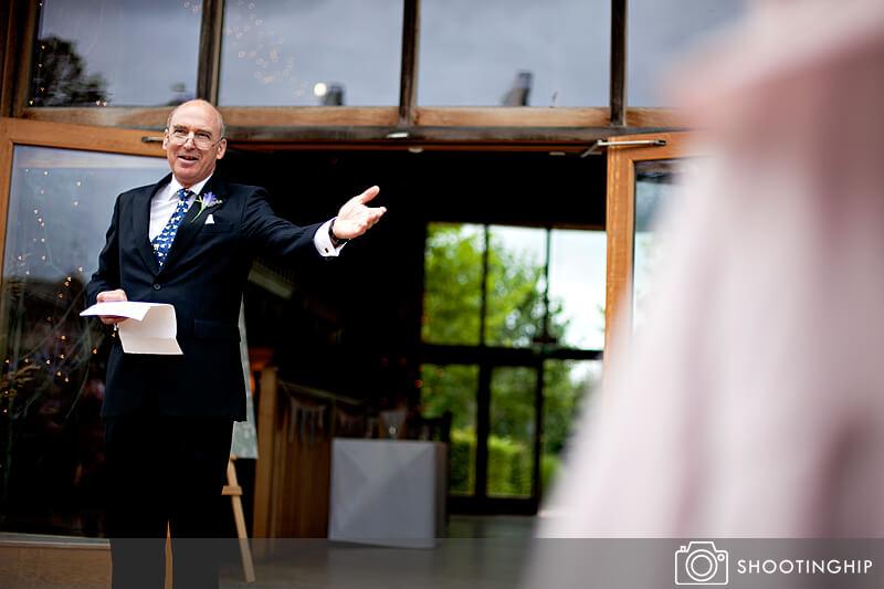 Hampshire Wedding Speeches Outside (16)