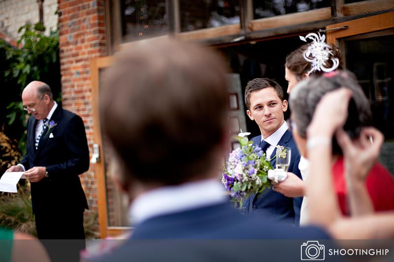 Hampshire Wedding Speeches Outside (17)