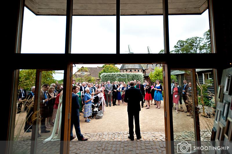 Hampshire Wedding Speeches Outside (18)