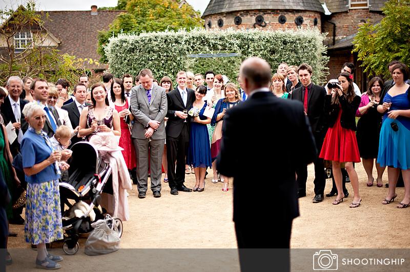 Hampshire Wedding Speeches Outside (19)