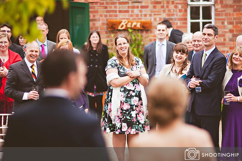 Hampshire Wedding Speeches Outside (26)