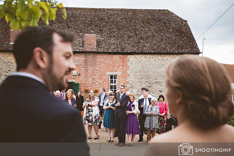 Hampshire Wedding Speeches Outside (27)