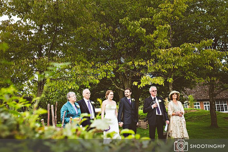 Hampshire Wedding Speeches Outside (33)