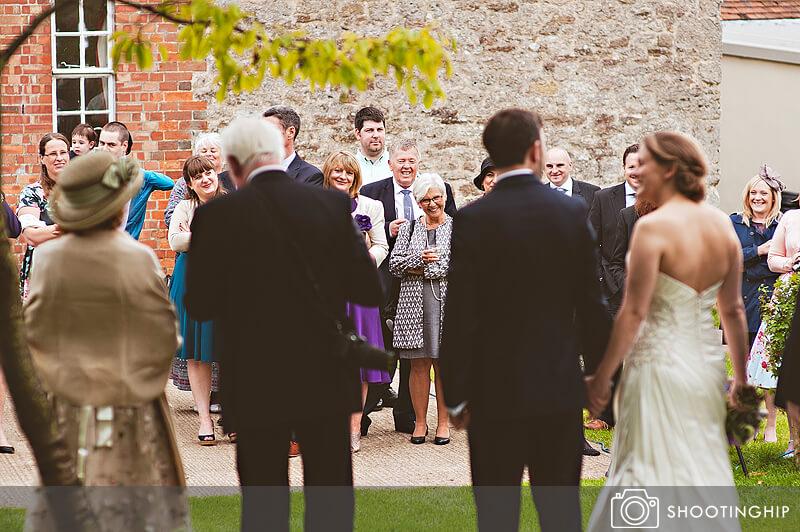 Hampshire Wedding Speeches Outside (36)