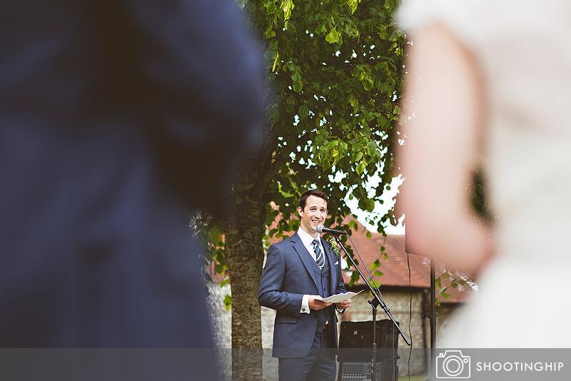 Hampshire Wedding Speeches Outside (41)