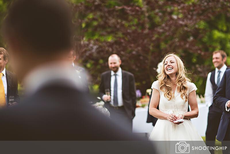 Hampshire Wedding Speeches Outside (43)