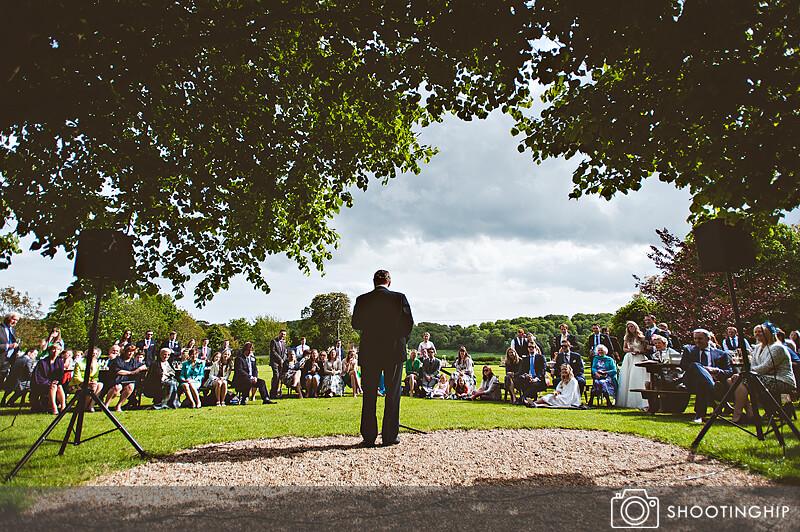 Hampshire Wedding Speeches Outside (51)