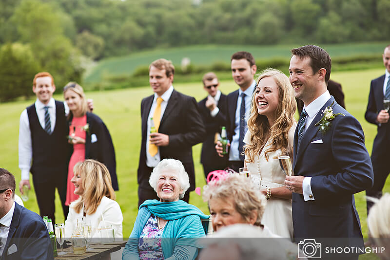 Hampshire Wedding Speeches Outside (53)