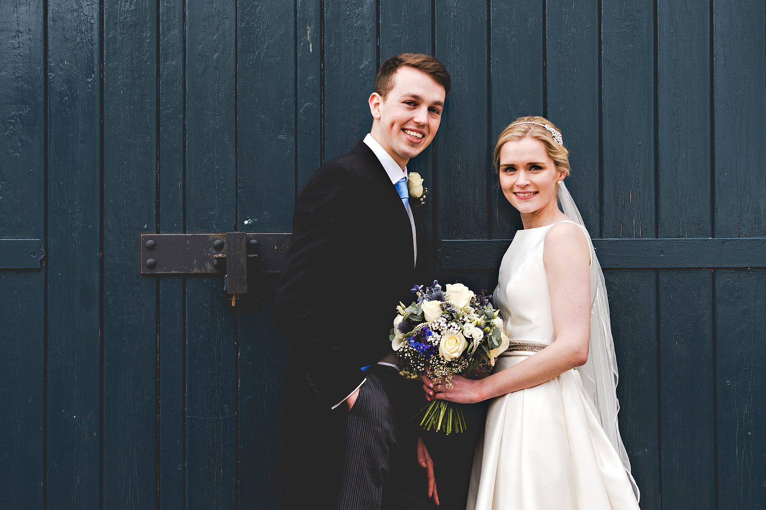 Harriet and Josh at Bury Court Barn