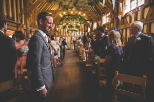 Crying Groom at Gate Street Barn